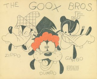 The Goox Bros., by John Sparey
