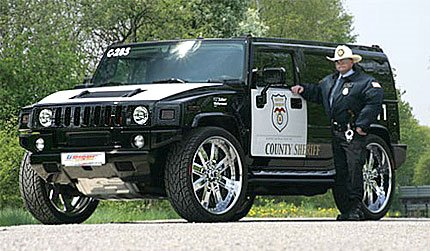 New Choice Advantage Your Car 700 Horsepower Hummer H2 Cop Car