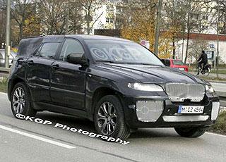 BMW X6 spy pics