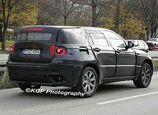 BMW X6 spy pics 3