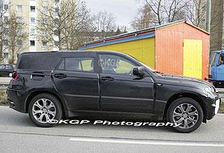 BMW X6 spy pics 2