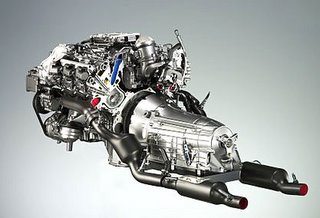 Mercedes CLS 350 CGI engine