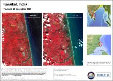 Indian IRS Imagery after Tsunami