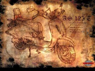 Asya Motor - AS 125 T