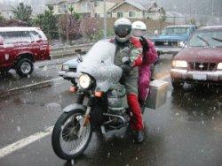 Motosiklet ve Kış