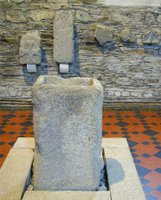 Baptismal Font at St. Brigid's, Kildare