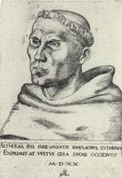 Martin Luther - Augustinian Monk