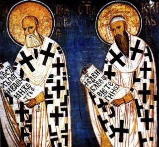 + Saints Cyril and Methodius +
