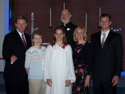 Laura and Godparents