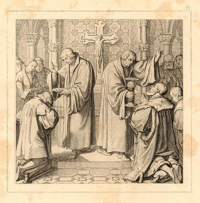 Luther Communing the People
