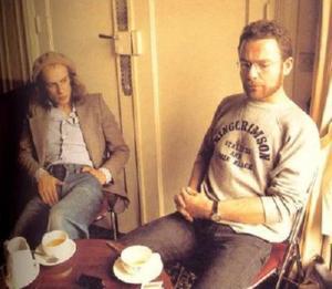 Eno y Fripp, dos cabezas pensantes