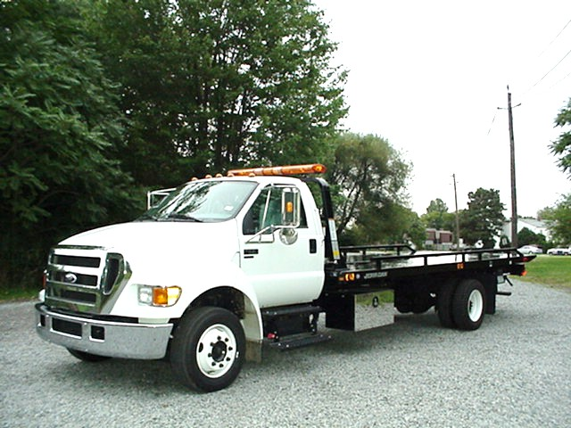 trucking and towing 2007 ford f650 xlt. Black Bedroom Furniture Sets. Home Design Ideas