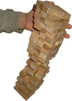 Yeah, this seems likely when drunks and Jenga combine.