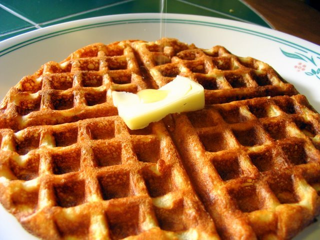 Light and Crispy Waffles   House of Annie