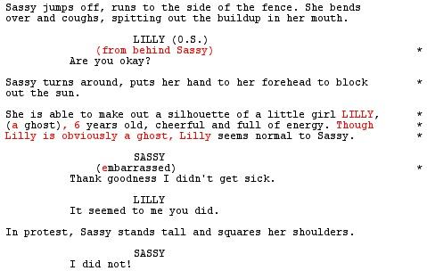 A curious life ots script supervisor for Camera script template