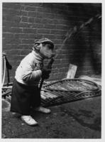 Monkey-Drinking-From-Hose