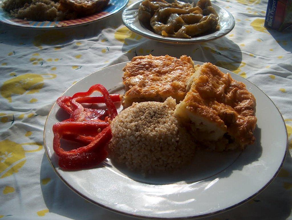 Patatesli Kek (çiğden)
