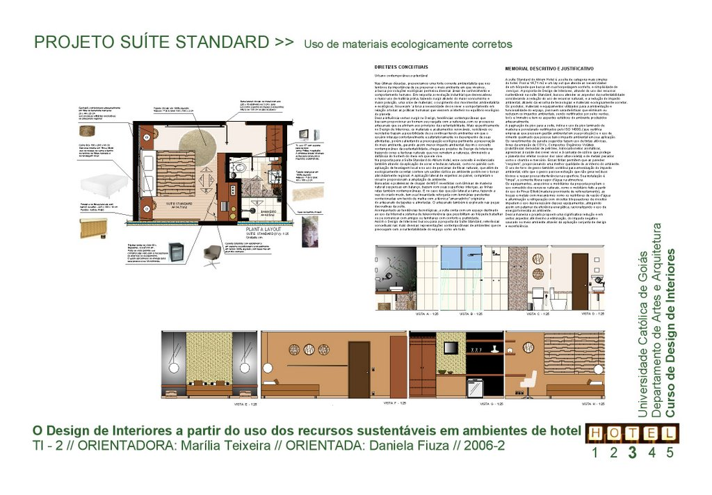 Ambiente verde for P o style architecture