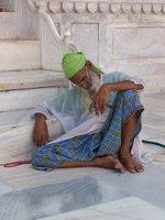 Acmir - Dargah - Yasli Musluman