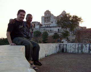 Abdulrezzak ile Muson Sarayi'nda