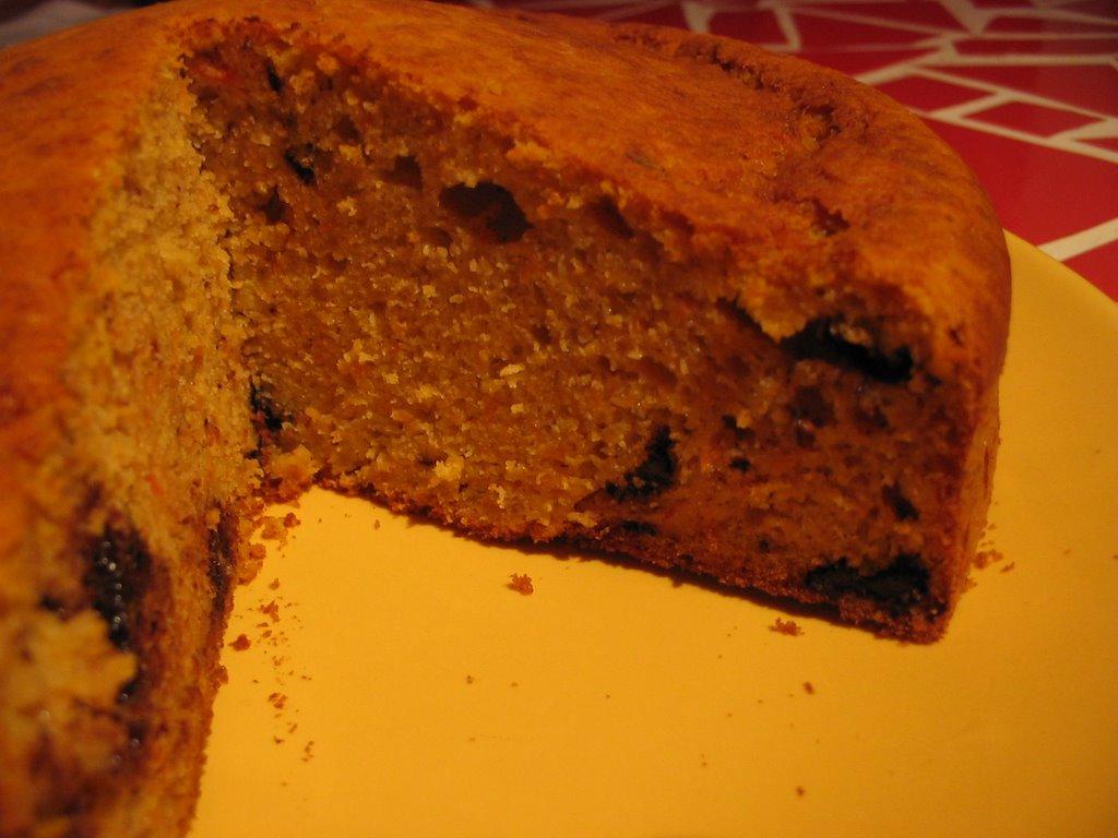 Sucr sal cake au potiron carottes et p pites de chocolat - Cake au potiron sucre ...