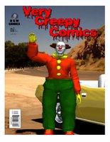 Creepy Clown Comic cover