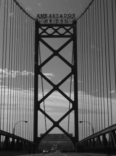Ambassador Bridge, Detroit Michigan