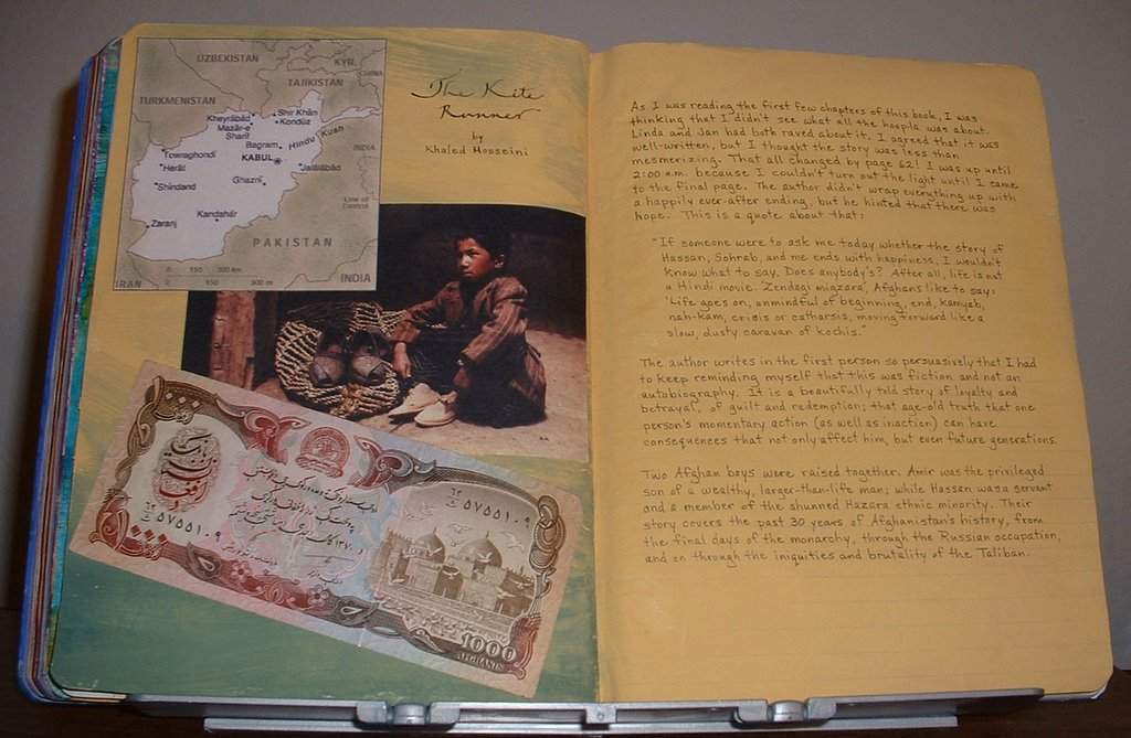 kite runner journal