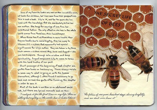 Quotes In The Secret Life Of Bees Best By My Hand Reading Journal Entry The Secret Life Of Bees