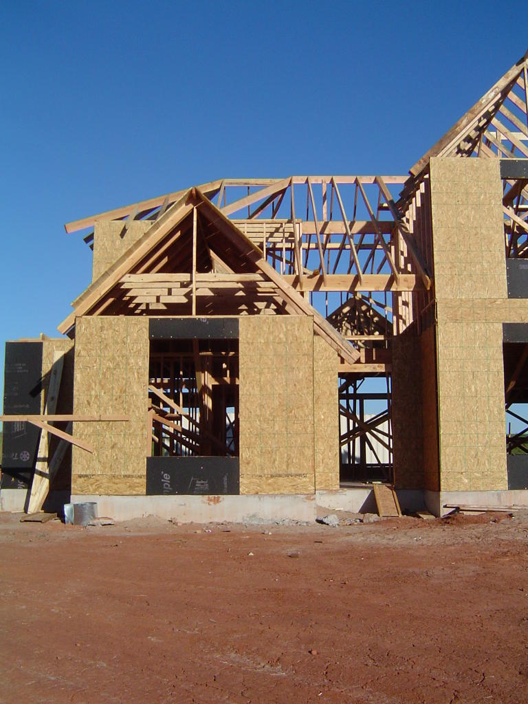 Custom Builders Of Oklahoma Belmar Framing The House