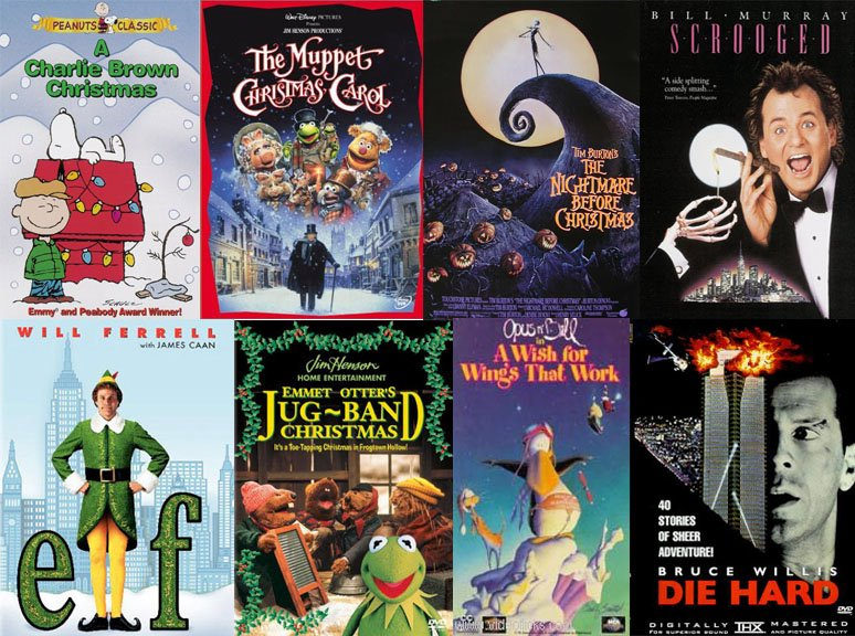a charlie brown christmas classic the muppet christmas carol xmas carol muppets the nightmare before christmas scrooged - Classic Christmas Movies List