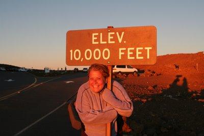 10,000 feet baby!