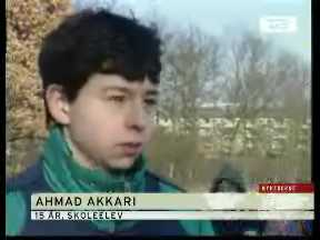 Ahmed Akkari, 15 years