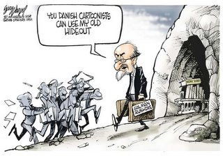 Rushdie by Varvel