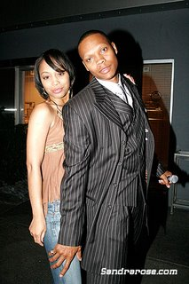 Ronnie Devoe and Shamari Fears http://allthatjuice.blogspot.com/2006/03/wedding-bells-are-ringing.html