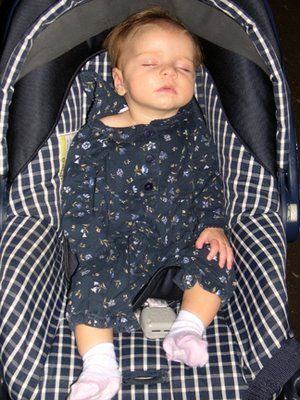 Granddaughter Kathryn @ 3 mos. after a long hard day