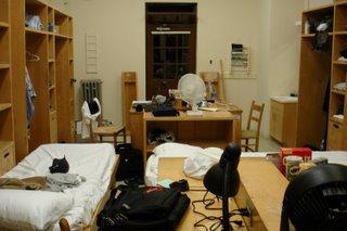 My spartan abode.
