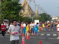 Grand Palace and runners