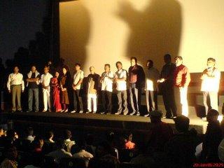 Stars at Premier of Marathi Movie Ek Unad Diwas