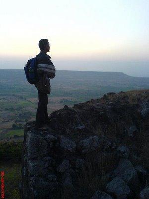 Dinesh Soni during Malhargad trek