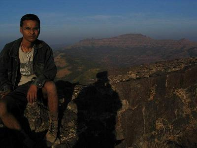 That's me at Rajgad
