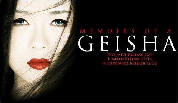 Memorias de una geisha en BANDAS SONORAS