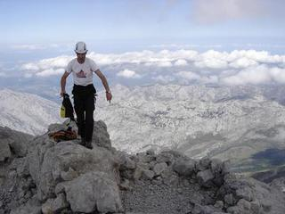 Pascal on Naranjo's summit