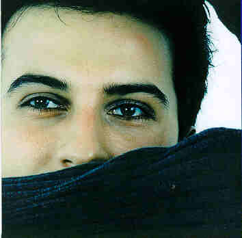 Inner CD sleeve for the European licensed Tarkan album, 1998 print