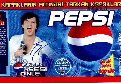 Pepsi label