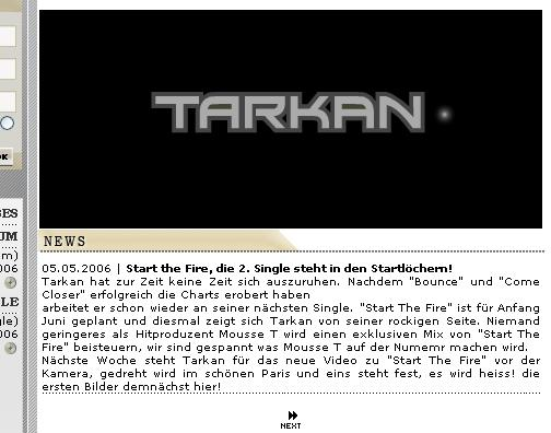 Tarkan dating