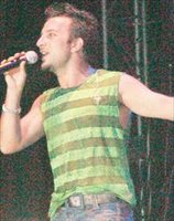 Tarkan on stage