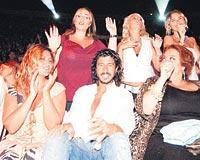 Rahşan Gülşan in the audience