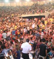 The August 7 crowd at Harbiye