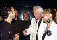 Tarkan with mayor